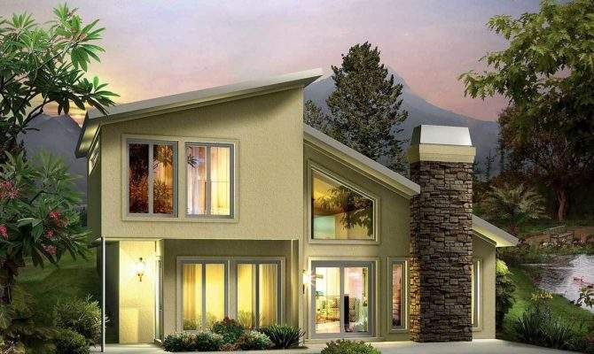 Earth Sheltered Berm Home Plan Architectural