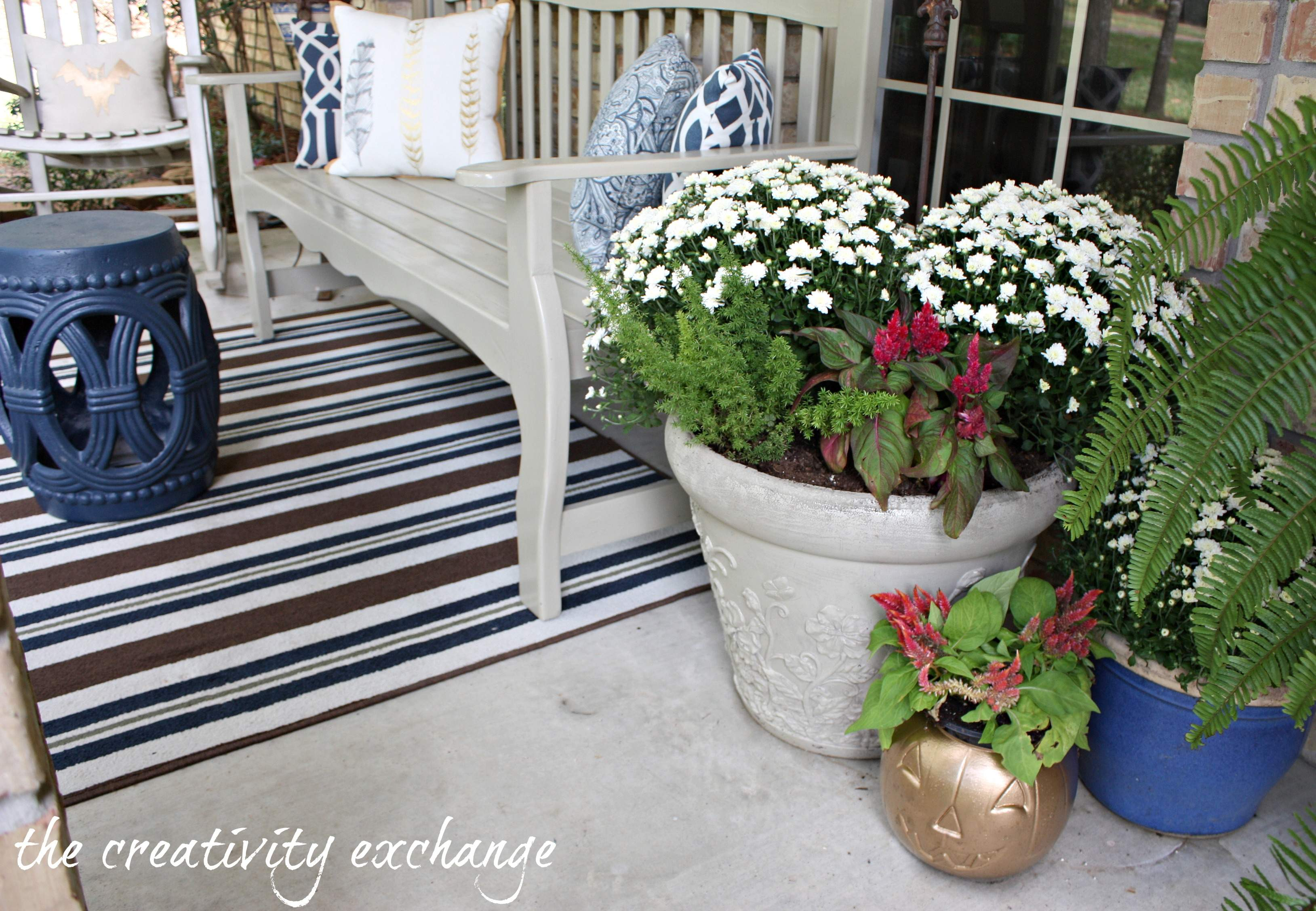 Easy Diy Ideas Front Porch Decorating Creativity Exchange