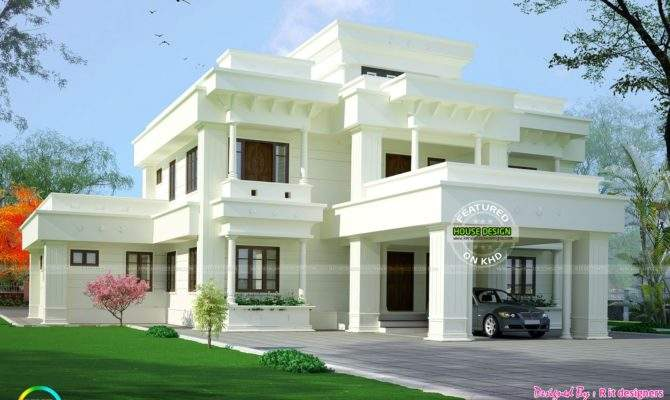 Elegant Looking Modern Home Architecture Kerala