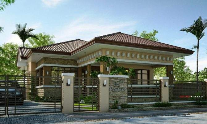 Elevated Bungalow House Designs Best