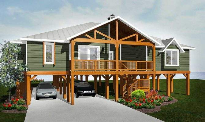 Elevated Living Architectural Designs House Plans