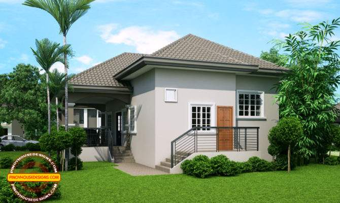 Elevated One Storey House Design Phd Pinoy