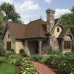 English Cottage House Plan Square Feet Bedroom