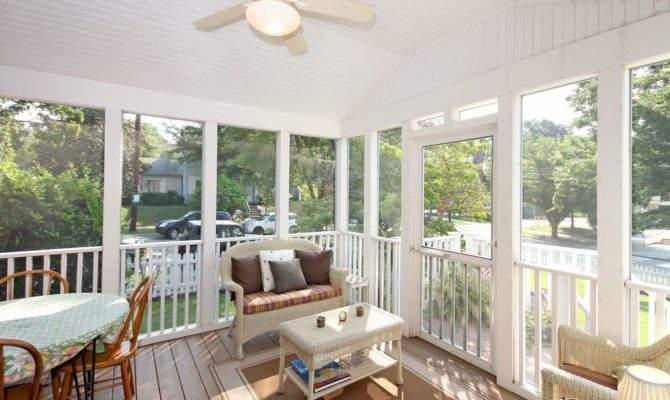 Enjoy Cottage House Plans Screened Porch