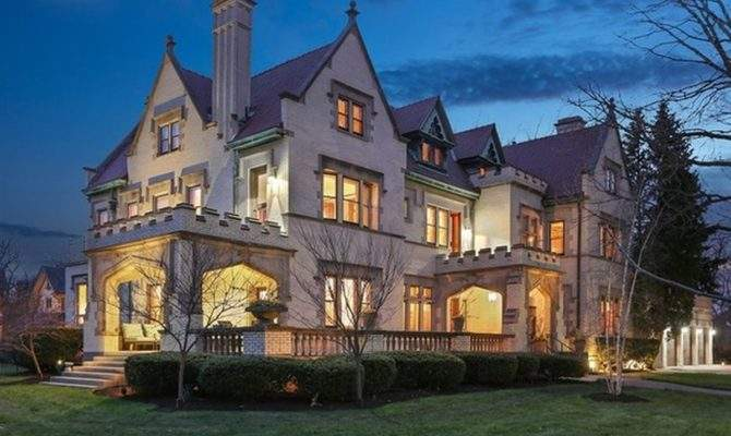 Enormous Limestone Mansion Oak Park Lists