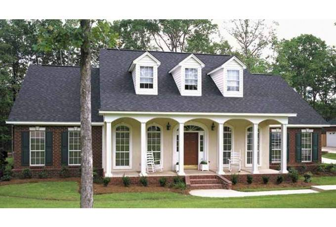 Eplans Colonial House Plan Classic Country Features Square