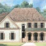 Eplans Colonial House Plan French Country Farmhouse Square