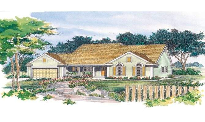Eplans Cottage House Plan Country Charmer Square Feet
