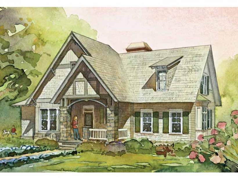 Eplans Cottage House Plan Downing Southern Living