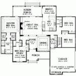 Eplans Cottage House Plan Stunning Exterior Square Feet