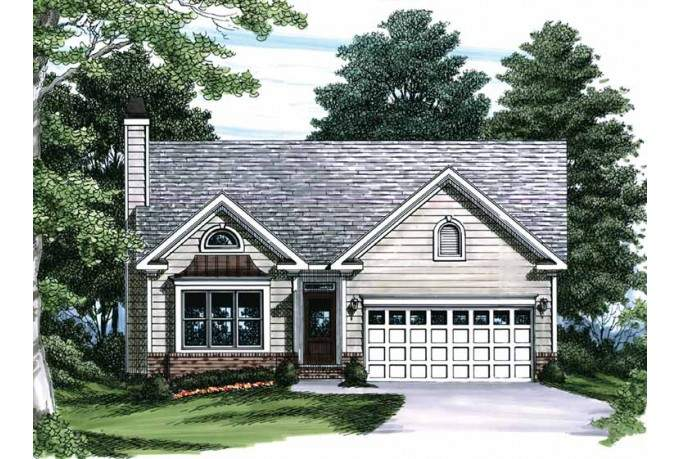 Eplans Cottage House Plan Sunny Box Bay Window Square Feet