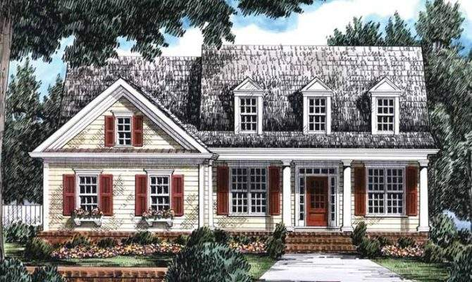 Eplans Country House Plan Spacious Charming