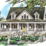 Eplans Country House Plan Wrap Around Porch Captures Every Breeze