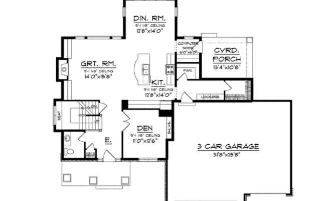 Eplans Craftsman House Plan Two Story Prairie Flare