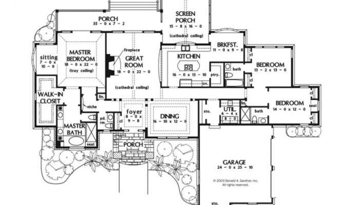 Eplans European House Plan One Story Luxury Square Feet