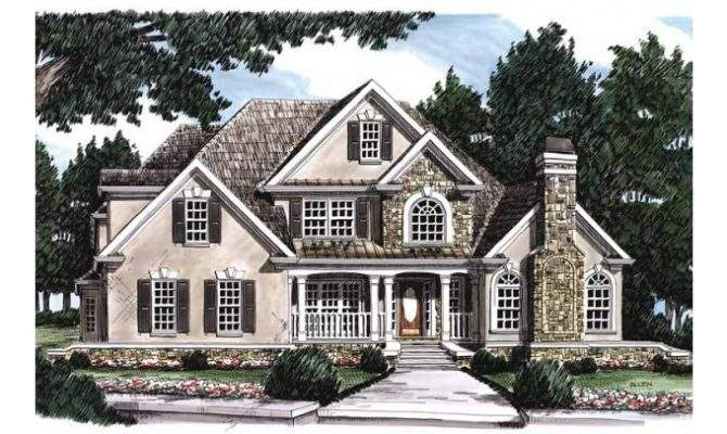 Eplans French Country House Plan Eclectic Appeal Square Feet