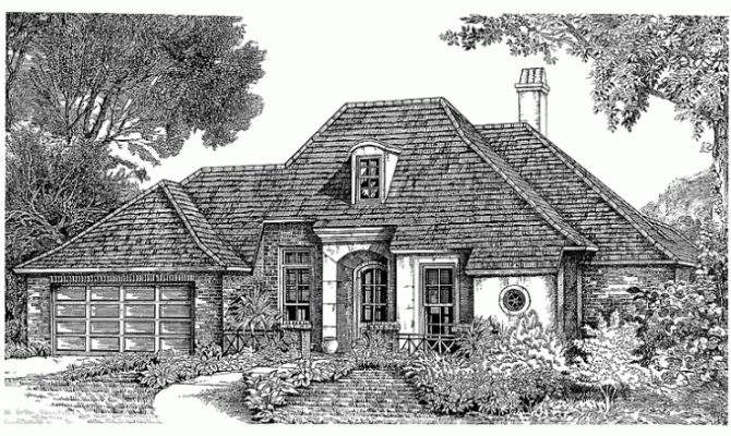 Eplans French Country House Plan Eclectic Styling