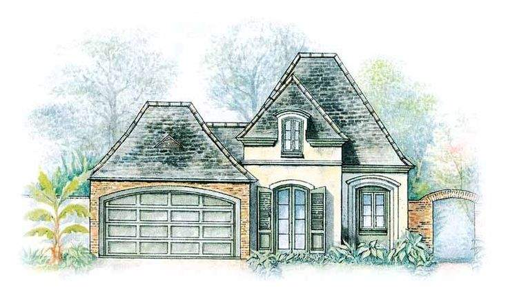 Eplans French Country House Plan Spacious Rooms Square Feet
