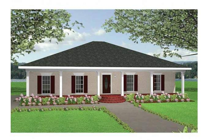 Eplans New American House Plan Open Floor Square Feet