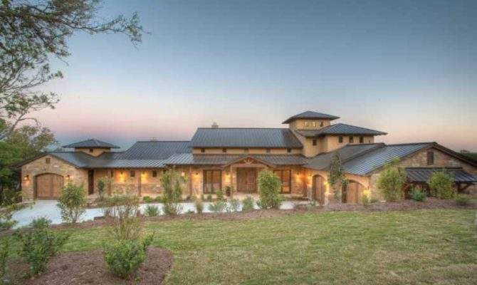 Eplans Prairie House Plan Hill Country Fusion Home Square