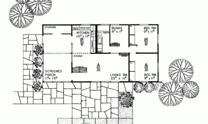 Eplans Ranch House Plan Expandable Square Feet