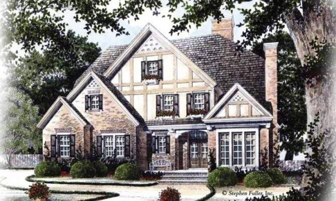 Eplans Tudor House Plan Old World Charm Square Feet