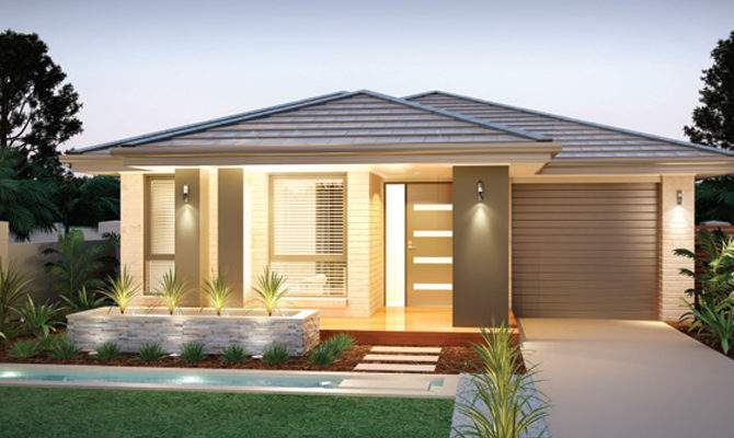 Example Two Story Small Lot House Design