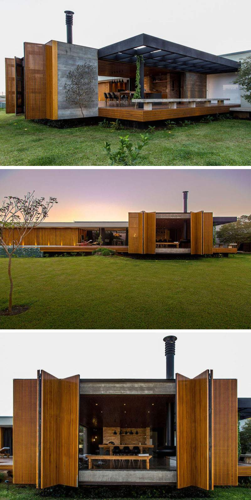 Examples Single Story Modern Houses Around