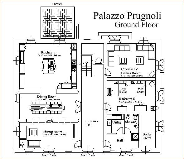 Exceptional Italian House Plans Villa
