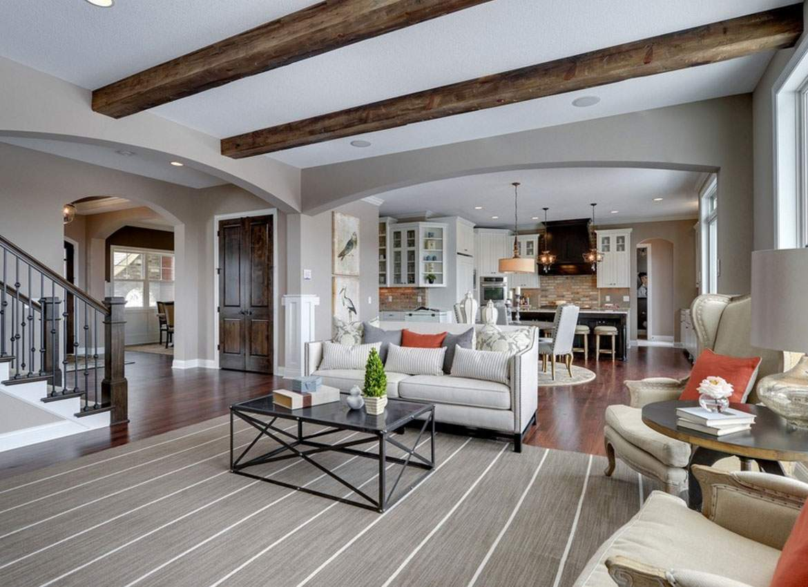 Exciting Design Ideas Faux Wood Beams Home