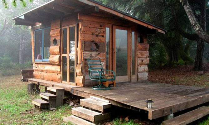 Exquisitely Charming Rustic Cabins Off Grid World
