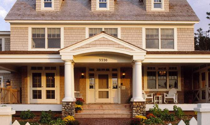 Exterior Classic American Dutch Colonial Traditional