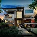 Exterior Modern Home Design Beautiful Ultra House Designs