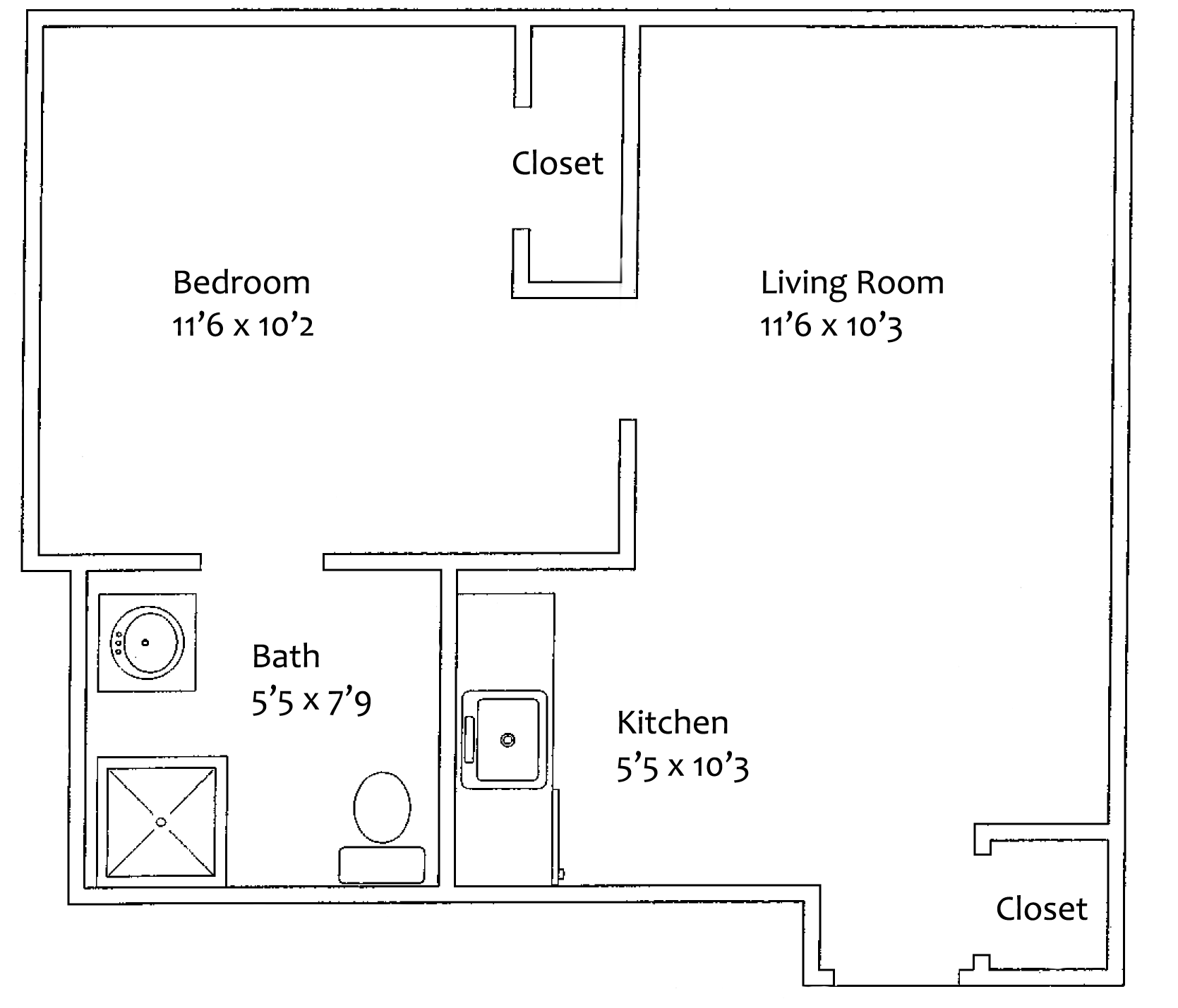 Falmouth House Sample Floor Plan Oceanview