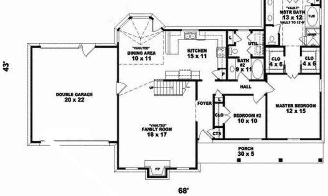 Farmhouse Home Plan First Floor House Plans More