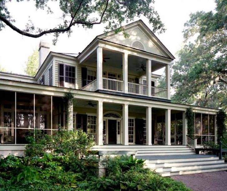 Federal Architectural Style Houses