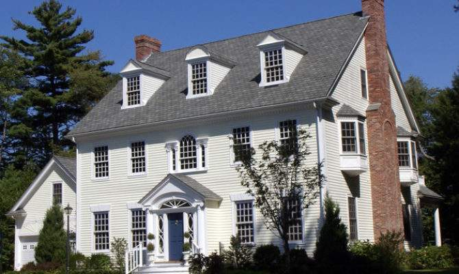 Federal Colonial Traditional Exterior Boston