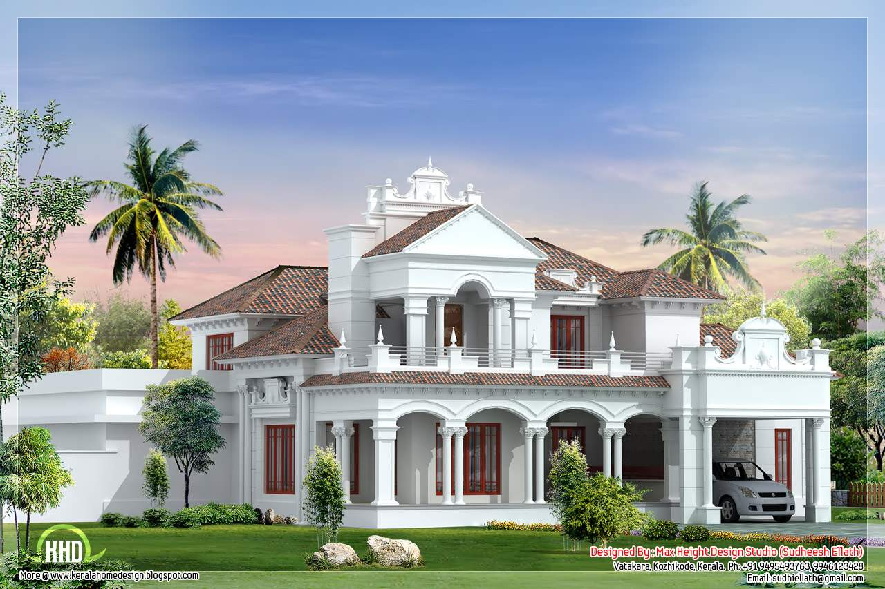 Feet Colonial House Plan Kerala Home Design Floor Plans