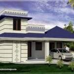 Feet One Floor South Indian Home House Plans