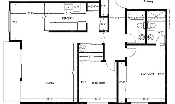 Floor Plans Bedroom House Square Feet Together