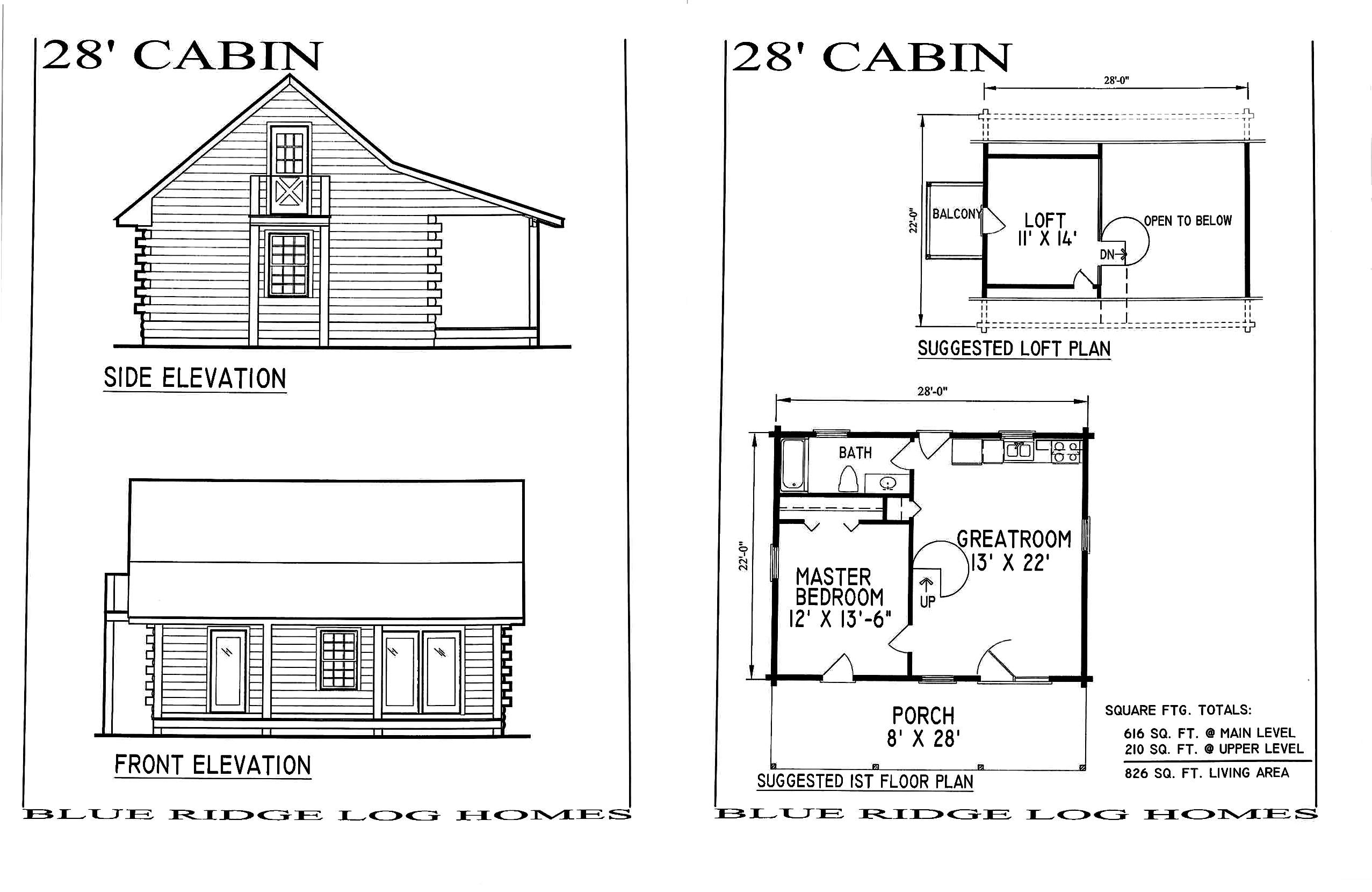 Floor Plans Small Homes