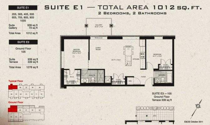 Floor Plans Typical Our Loft Style Condos Ottawa