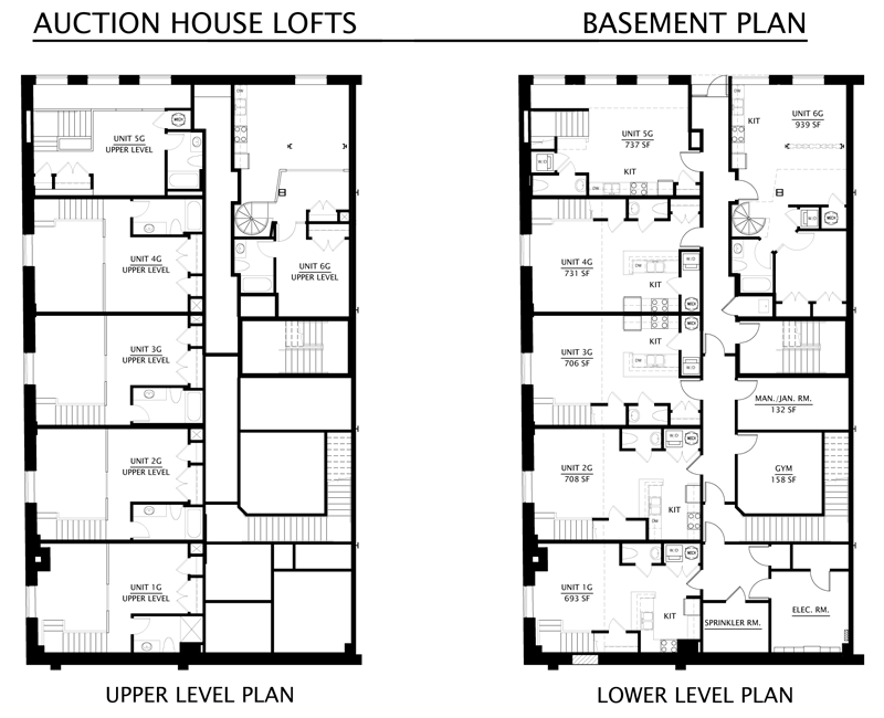 Floorplans Auction House