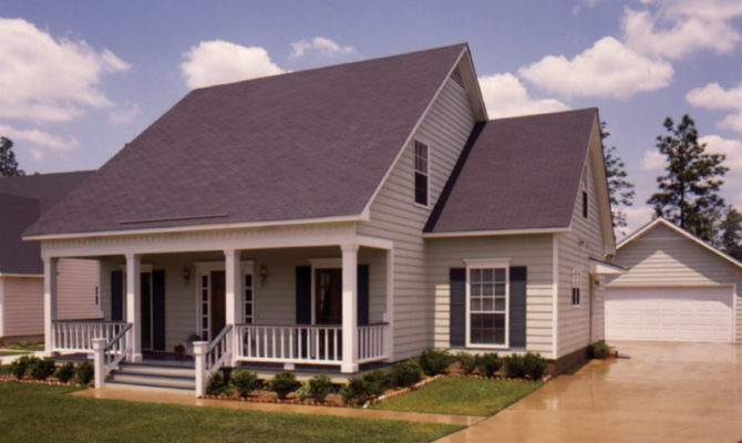 Fort Mill Country Salt Box Home Plan House