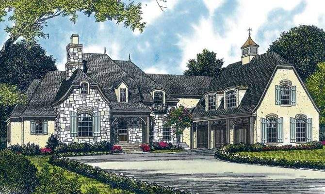 Four Bedroom French Country