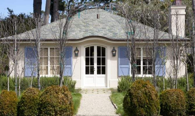 French Country Chartreuse Style Architecture Inspiration