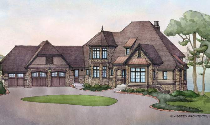 French Country Estate House Plans Home Deco