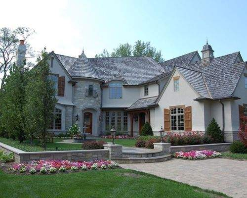 French Country Exterior Houzz
