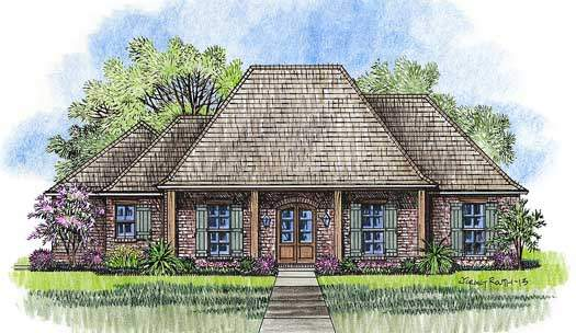 French Country Style House Plans Plan