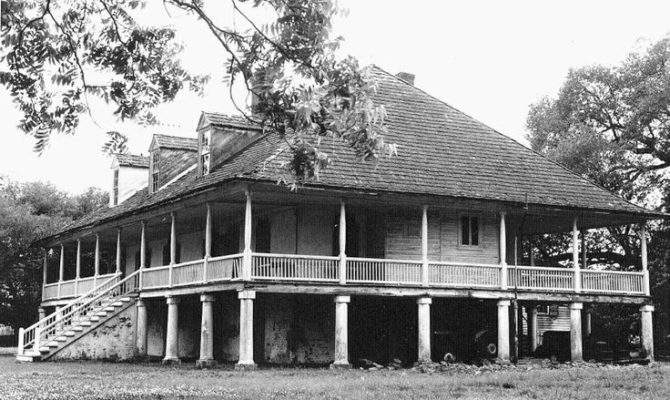 French Creole Homeplace Raised Plantation House